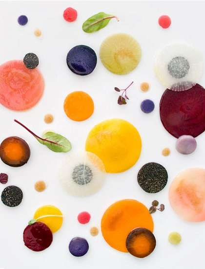Abstract Food Photography