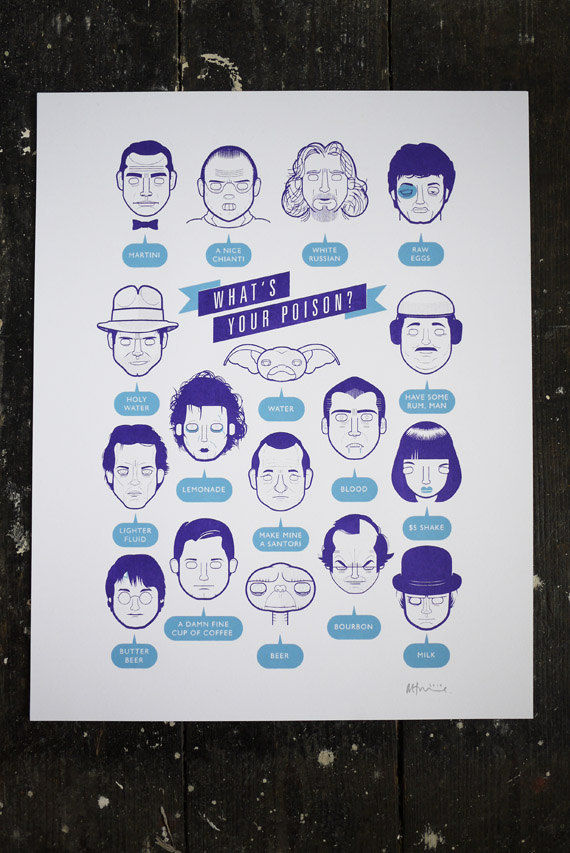 Pop Culture Drinking Charts