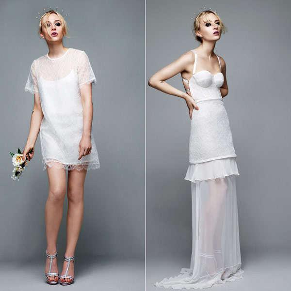 Non Traditional Wedding Dress Boho: Boho Wedding Dress Collaborations : Richard Nicoll For