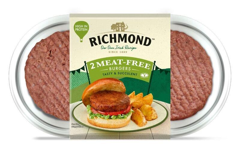 Preformed Meatless Burger Patties