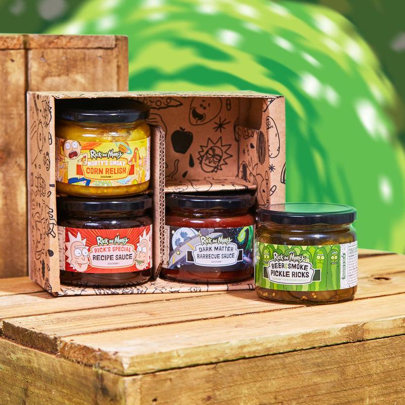Branded Cartoon Snack Sauces