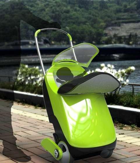Overhead Bin Baby Buggies : Ride On