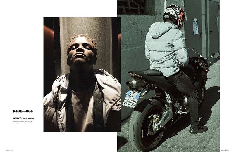 Motorcyclist Fashion Editorials