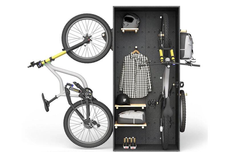 Modular Cyclist Storage Cabinets