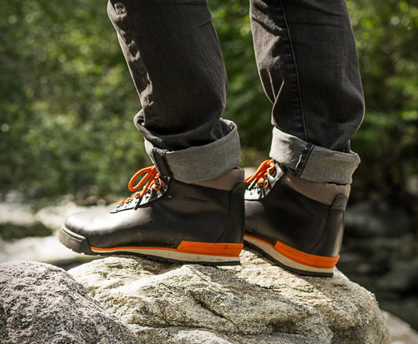 Modernized Hiking Boots