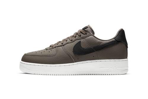 Earthy Tonal Leather Sneakers
