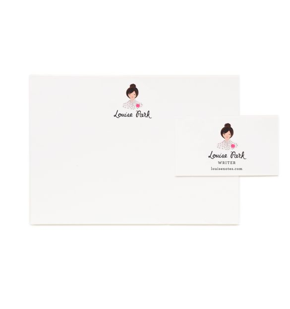 Charmingly Personalized Stationary
