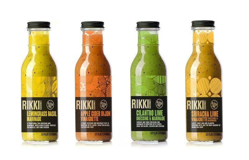 Textural Salad Dressing Rebranding