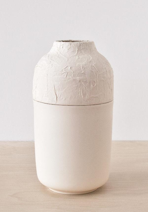 Minimalist Textured Vases