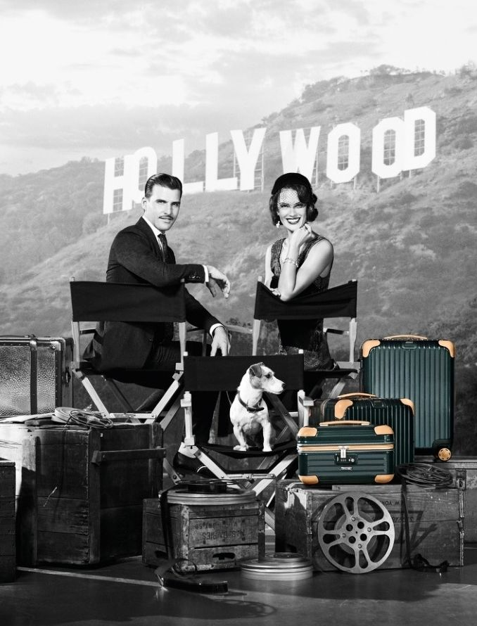 Retro Luggage Ads
