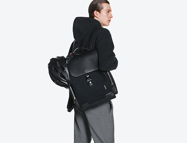 Suitcase-Inspired Backpacks