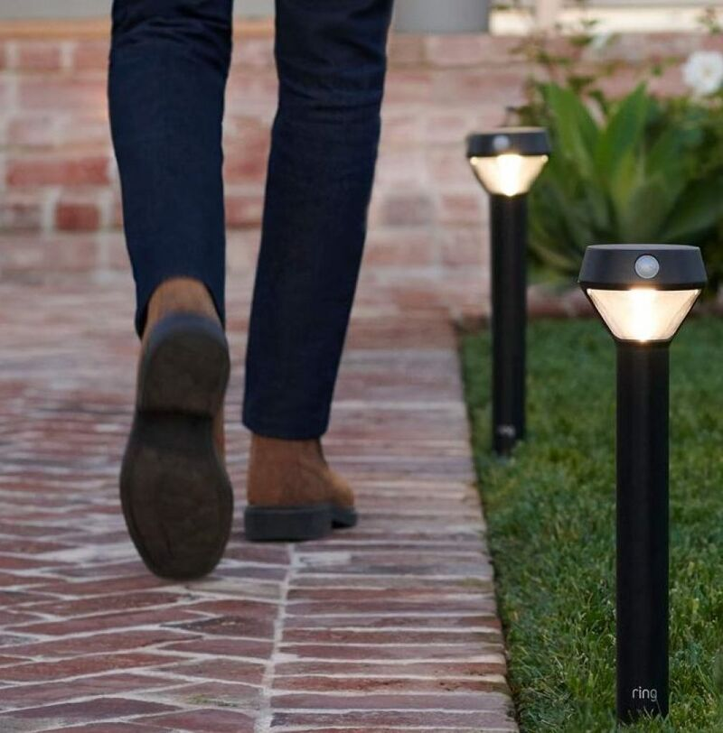 Smart Motion-Sensing Outdoor Lights