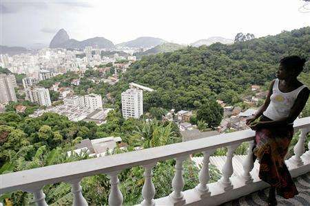 """Rio's """"Little Slum Inn"""""""