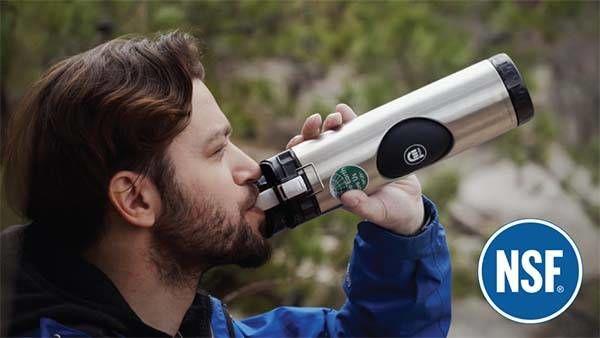 Malleable Metallic Water Bottles