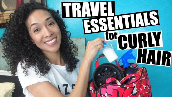 Curly-Haired Latina Vloggers
