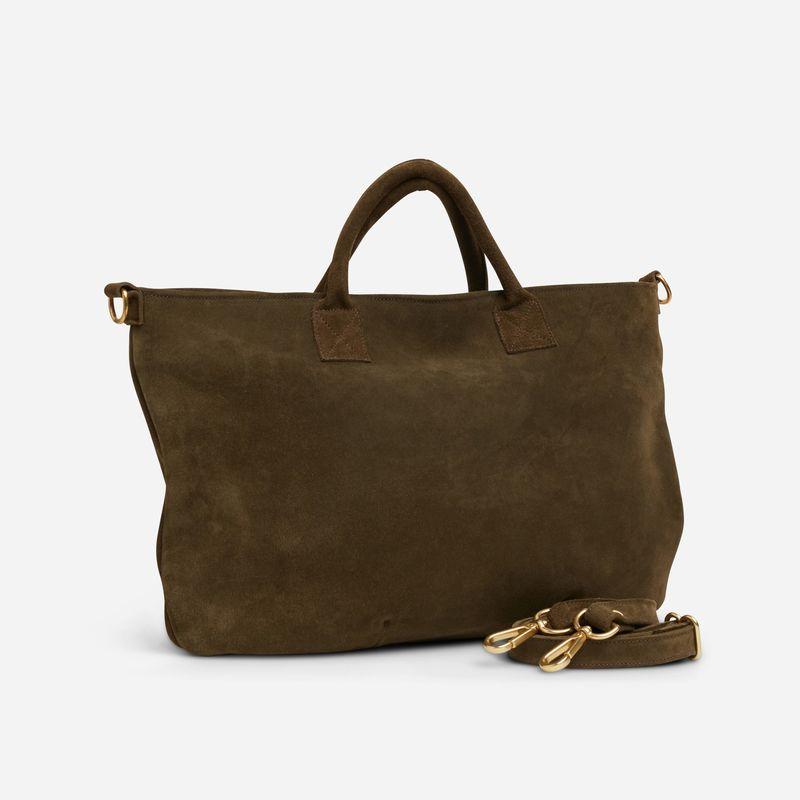Empowering Suede Crossbody Bags
