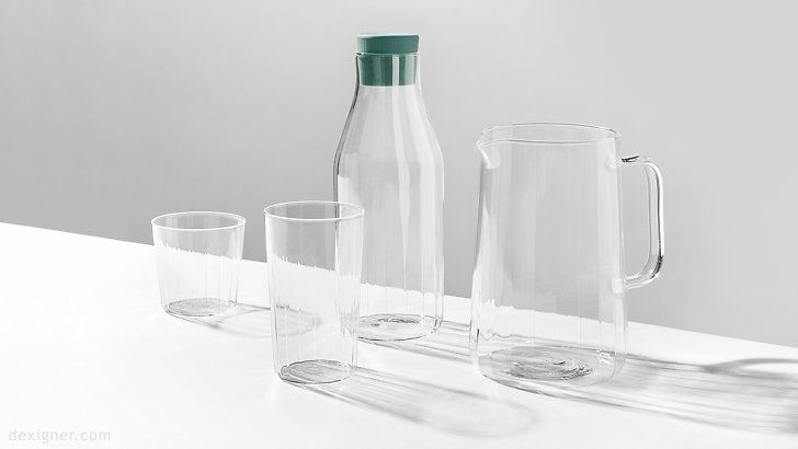 Minimalist Glasswear Collections