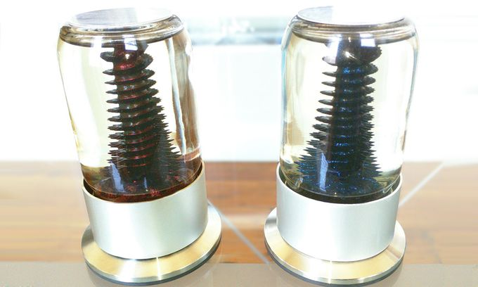 Hypnotic Ferrofluid Sculptures