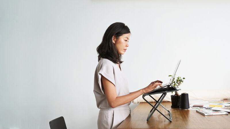 Desk-Integrated Laptop Cases