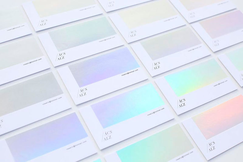 Color Changing Business Cards