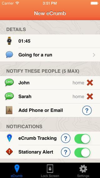 Adventurer Emergency Apps