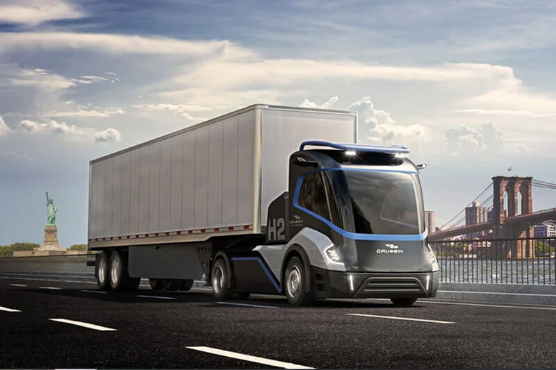 Autonomous Zero-Emission Road Trucks