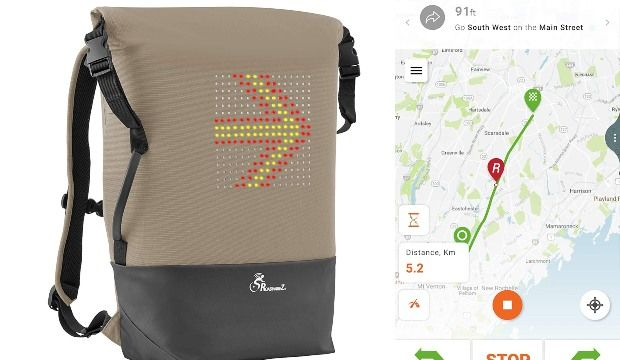 Automated Cyclist Signal Backpacks