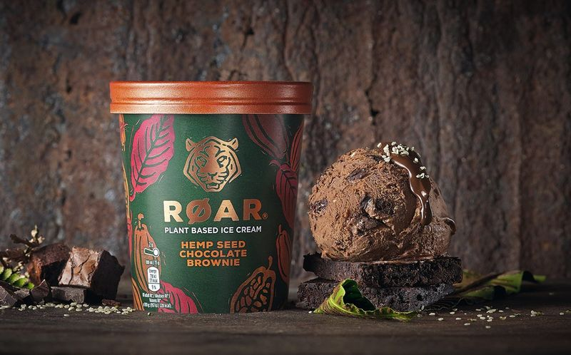 Wildlife-Supporting Plant-Based Ice Creams