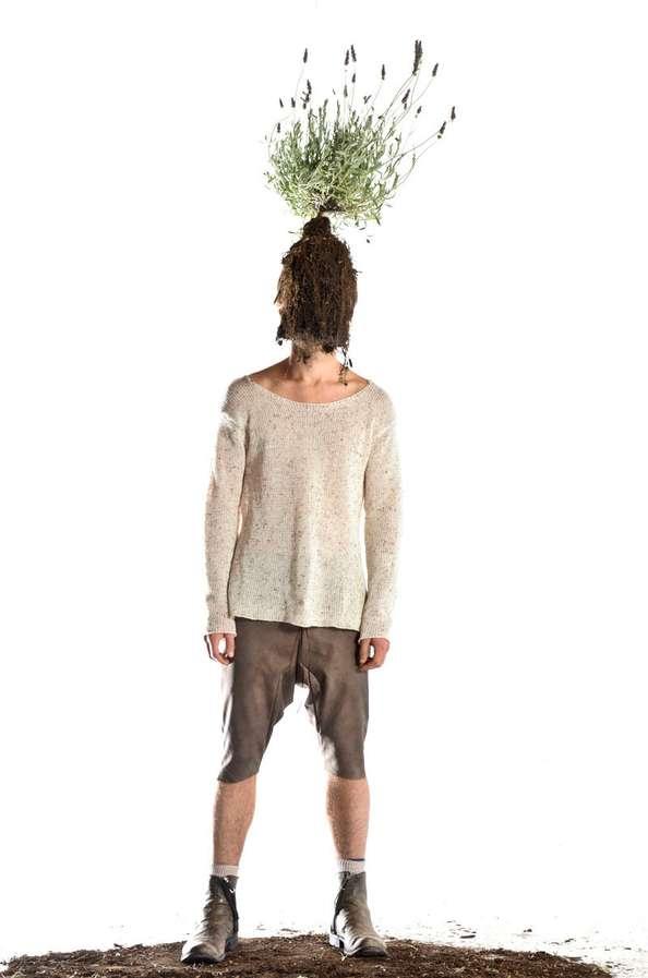 Perplexing Plant-Headed Lookbooks