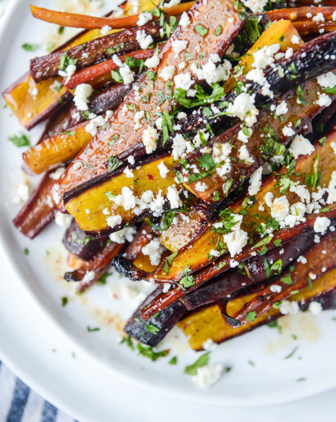 Pomegranate-Roasted Carrots