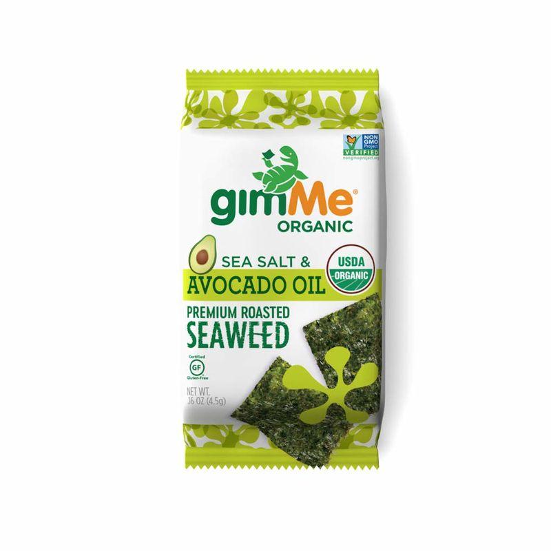 Avocado Oil Seaweed Snacks
