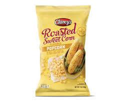Roasted Sweet Corn Popcorns