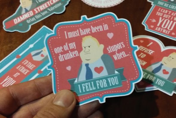 Cheeky Mayor Valentine Cards