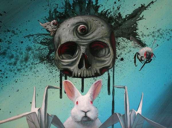 Freaky Pop Art Illustrations