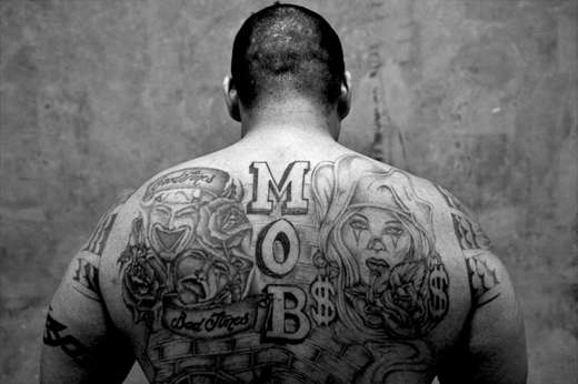 Exploring inmate ink robert gumpert american prison tattoos for Prison eye tattoos