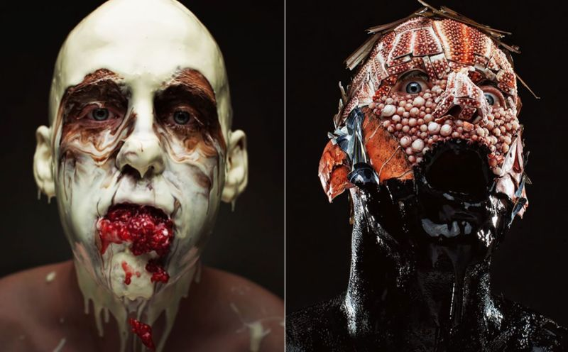 Disturbing Menu-Inspired Portraits