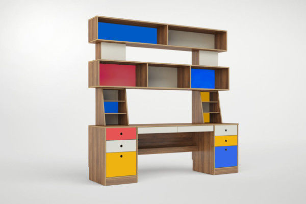 Vibrant Child-Inspired Desks