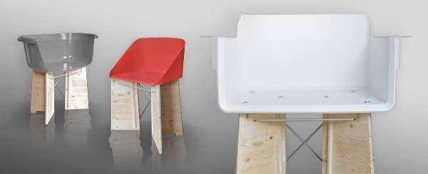 Simple Recycled Seat Sets