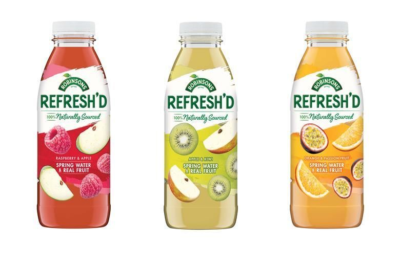 Revamped Fruit Water Refreshments