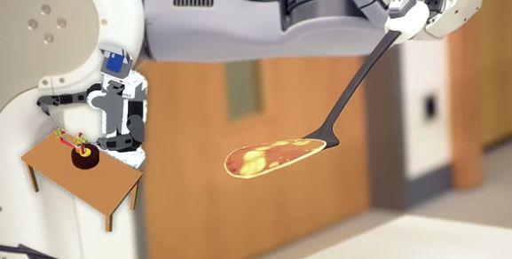 Pancake-Flipping Robots