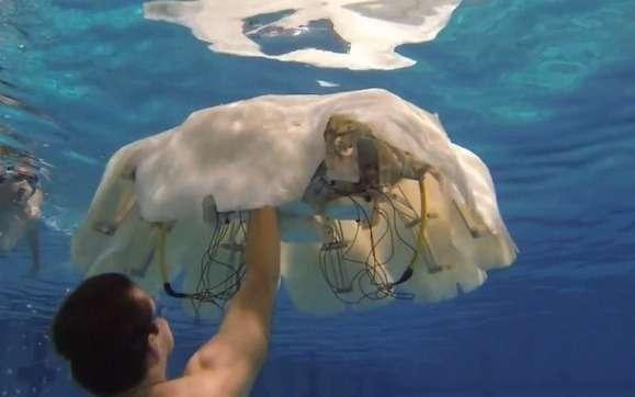 Creepy Jellyfish Robots
