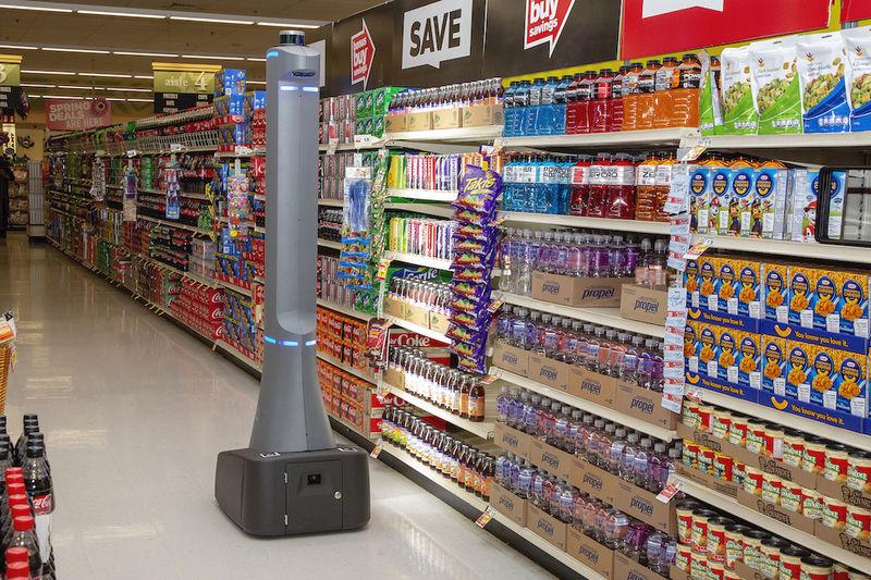 5G Retail Robots