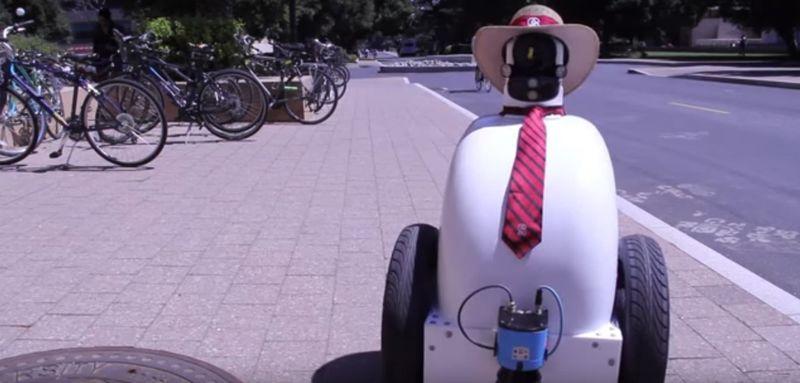 Street-Navigating Robots
