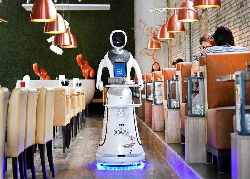Humanoid Robot Servers
