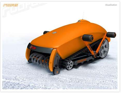 Robot Snow Shovels