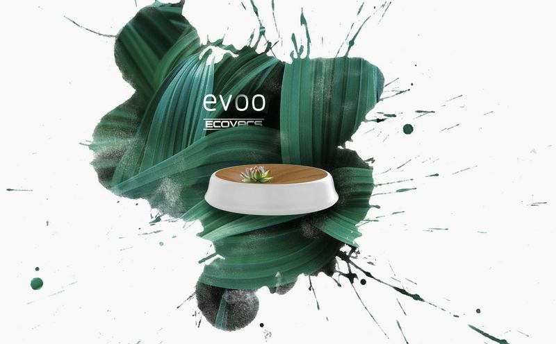 Plant-Topped Robotic Vacuums