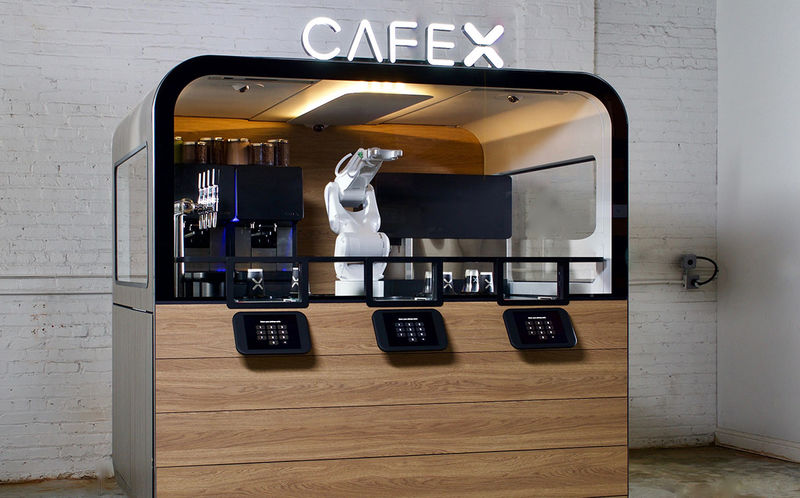 Robot-Powered Airport Cafes