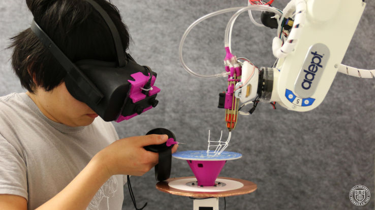 AR-Controlled 3D Printers