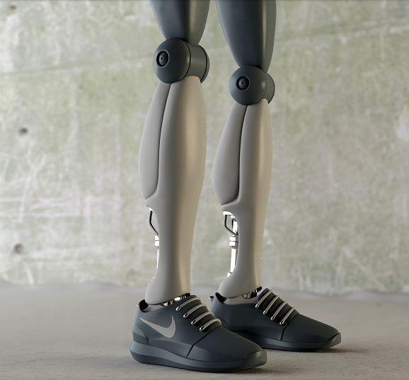 Stylish Robotic Sneakers