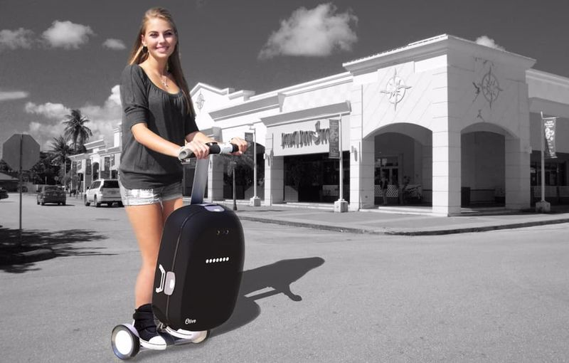 Intelligent Robotic Suitcases